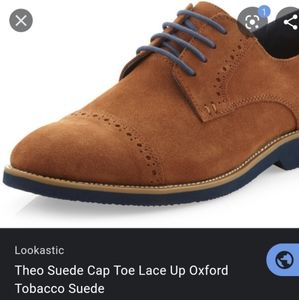 Like New Size 9 Joseph Abboud Theo Suede Cap Toe